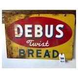 """Debus Bread Sign - 30"""" x 20"""""""