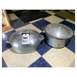 2 Aluminum Pots