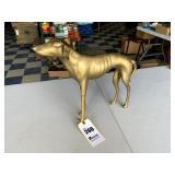Brass Greyhound Dog