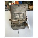 Old C.O. & G.S. Co. Sad Iron Heater
