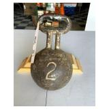 Leg Weight with Handle for Chain Gang Leg Iron