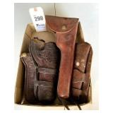 Heiser Holster & other Tooled Leather Holsters
