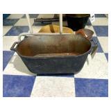 Oblong Cast Iron Pot