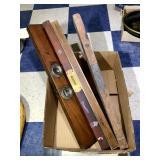 4 Wooden Levels - Keen Kutter, Stanley