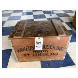 Anhueser-Busch Wooden Box
