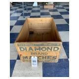 Diamond Brand Matches Wood Crate