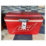 Vintage Great Falls Cooler Box