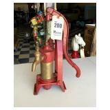 QuickPression Steel & Brass Hand Pump