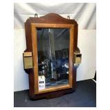 Andrew Usher & Co. Match & Cigar Cutter Mirror
