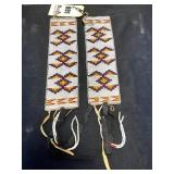 Two Matching Beaded Arm Bands