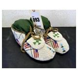 Adult Beaded Ceremonial Moccasins