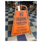City of Chicago NO PARKING Sign