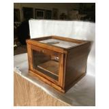 Glass-Sided Display Box