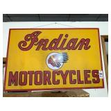 Reproduction Indian Motorcycle Sign