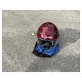 LS2 OF569 Motorcyle Helmet w/ Visor
