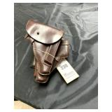 5-WWII 32 Automatic European Holsters, Leather