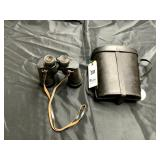 Bausch & Lomb Navy Binoculars, w/ Marked Case