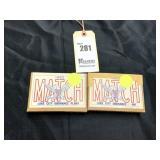 2 Boxes of 20 30 cal. Match Cartridges, 173 Grains