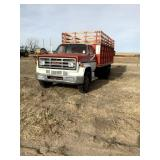 1973 GMC 6000 Truck, 15 ft. Jacobs Box