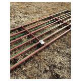 2 - 16 ft. Steel Gates