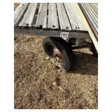 14 ft. Hay Rack on Wood Running Gear