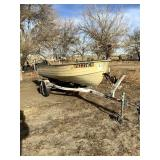 1977 Mirror Craft 14 ft. Aluminum Boat