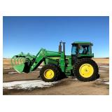 1991 JD 4055 MFWD Tractor w/JD 740 Classic Loader*