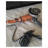 Ridgid angle grinder works