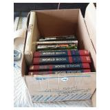 3 boxes of books