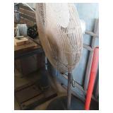 Pedistal shop fan works cord needs repair