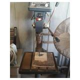 Craftsman 2hp industrial floor drill press works