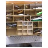 Tackle box full lures