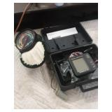 Eagle fish finder and color clector