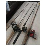 4 more rods and reels