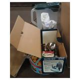 Box silverware and misc