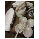 Tea pot corn plates