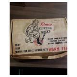 Vintage electric socks