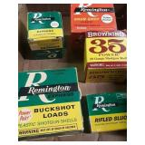 Box misc shot gun shells full boxes