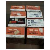 8 boxes 12 ga. shells full boxes