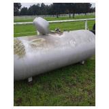 1980 250 gal LP tank