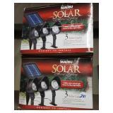 New solar lights