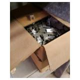 2 boxes of plywood clips
