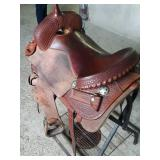 "Coats 17"" saddle San Angelo TX"