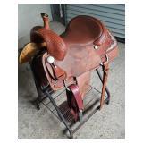 """H&H 16"""" saddle Whitewright TX"""