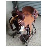 "Vinton 16"" saddle Vinton TX"