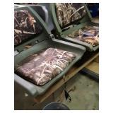 New boat seats