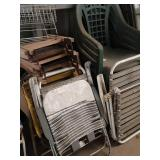 Lot of lawn chairs