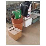 Flower pots coolers