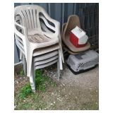 All chairs and pet carriers