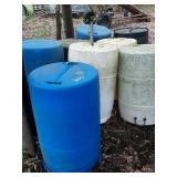 8 barrels